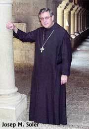 Josep Maria Soler, abad de Montserrat