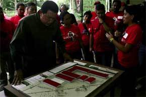 Chávez-en-'Aló-presidente'