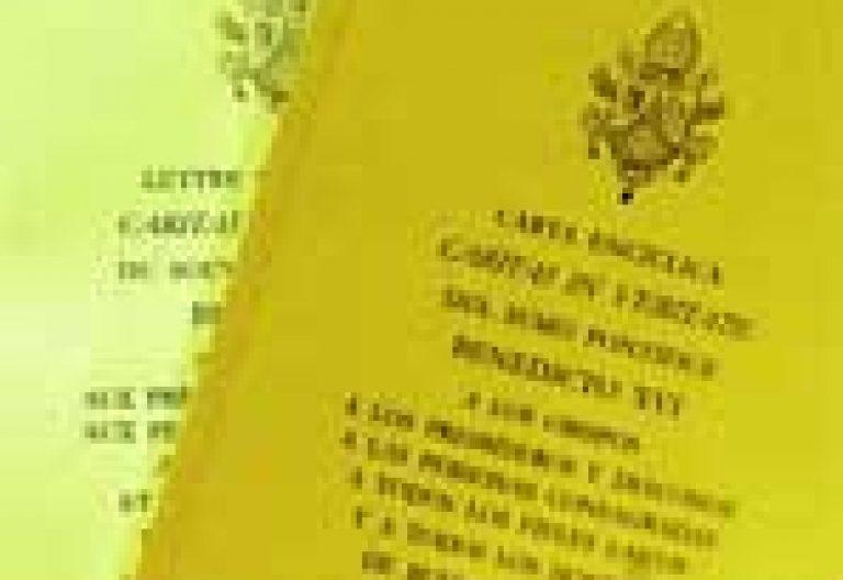 encíclica Caritas in veritate papa Benedicto XVI