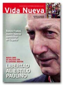 Vida Nueva portada 2672 agosto 2009