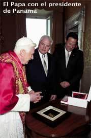 Papa-y-presidente-Panamá