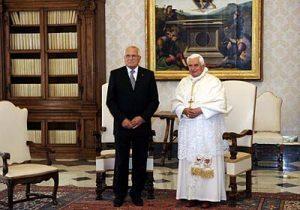 Presidente de la República Checa invita al Papa a la histórica visita