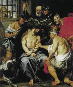 'La coronación de espinas', de Van Dyck
