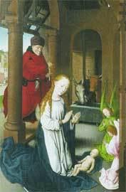 'Nacimiento de Jesús', de Hans Memling