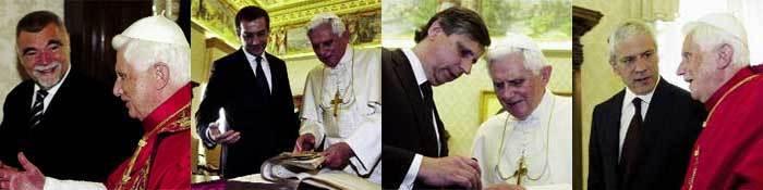 El Papa, en las audiencias que mantuvo con el presidente de Croacia, el primer ministro de Hungría, el presidente checo y el serbio