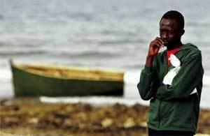 Inmigrante-Mauritania