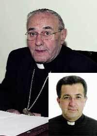 Juan García-Santacruz. Abajo, Ginés García