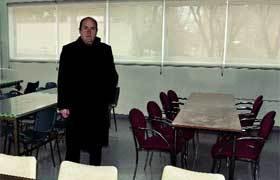 Braulio Carlés muestra el comedor