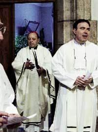 Eucaristía de despedida de Uriarte el día 2 de enero