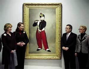 'El pífano', de Manet