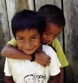 Niños-Guatemala