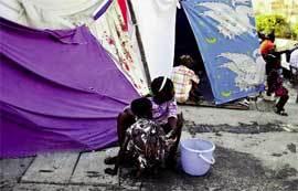 Campamento-en-Haití