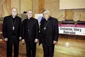Adolfo González Montes, Jean-Louis Tauran y el arzobispo Javier Martínez