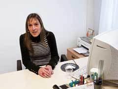 Beatriz, del Programa de Inmigrantes de Cáritas