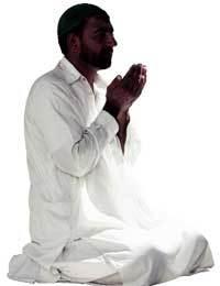 Musulmán-rezando