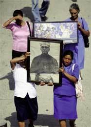 procesión popular en El Salvador en memoria de monseñor Romero