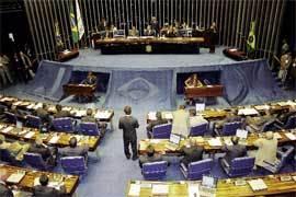 El Senado brasileño durante una reunión en 2006 de los países miembros del MERCOSUR