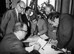 los padres de la Constitución española 1978