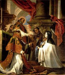 Comunión de santa Teresa.