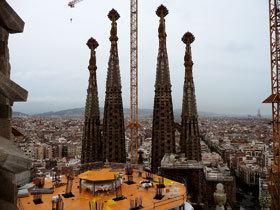 Torres de la Sagrada Familia de Barcelona