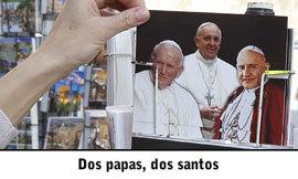 Noticias, canonización de Juan Pablo II y Juan XXIII abril 2014