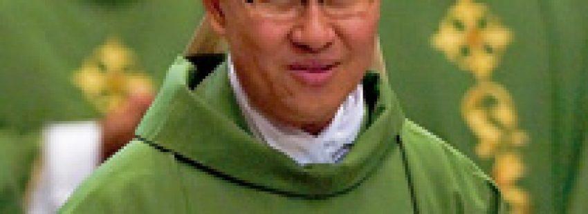 Luis Antonio Tagle cardenal arzobispo de Manilax
