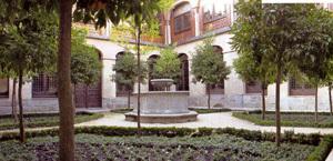 claustro del Monasterio de las Descalzas Reales de Madrid