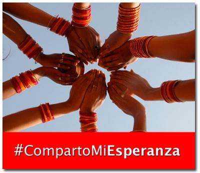 CompartoMiEsperanza Vida Nueva redes sociales