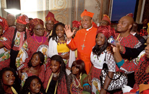 cardenal John Olorunfemi Onaiyekan, arzobispo Abuja, consistorio noviembre 2012