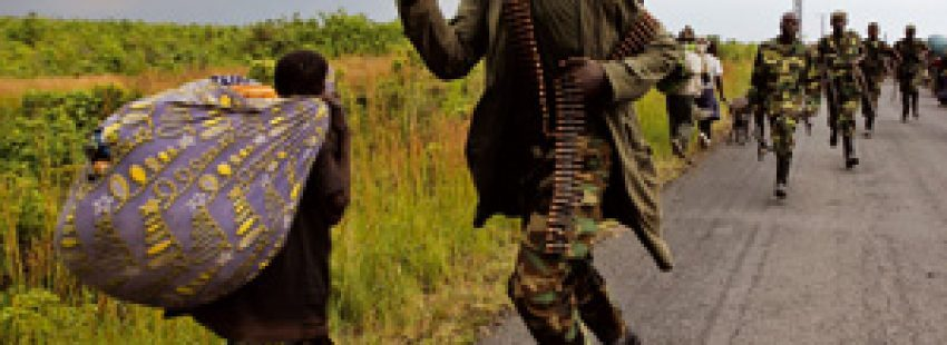 La llegada del M23 a RD Congo ha provocado la huida de la población