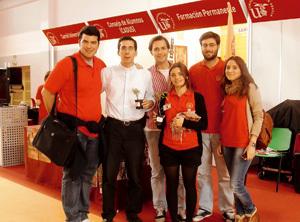miembros del Servicio de Atención Religiosa de la Universidad de Sevilla