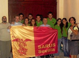 miembros del SARUS de la Universidad de Sevilla