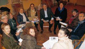 grupo de personas en Cita Conciliar iniciativa en Bilbao para conocer Vaticano II