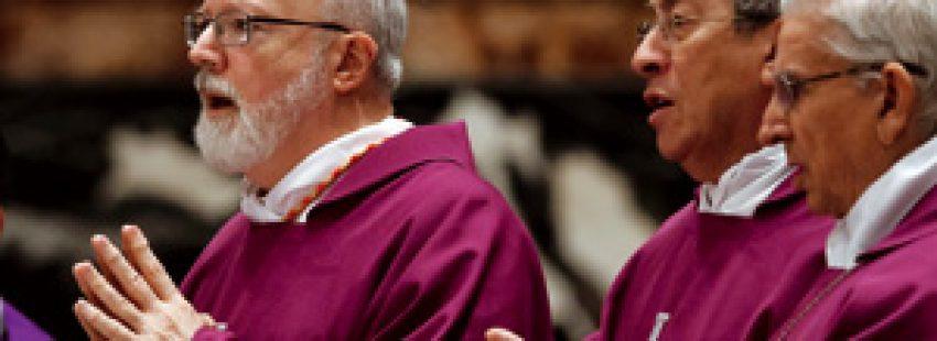 los cardenales OMalley, Madariaga y Castrillón Congreso América en Roma