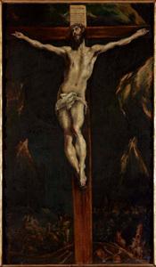 La Crucifixión, de El Greco