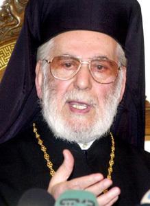 Ignacio IV Hazim patriarca greco-ortodoxo Oriente fallecido 2012