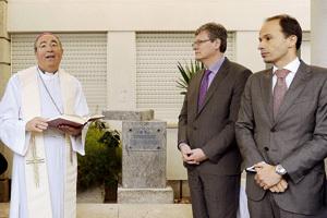 Jorge Ortiga, arzobispo de Braga, en la Semana Social Católica Portugal diciembre 2012