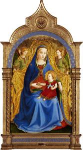 Virgen de la Granada, de Fra Angelico