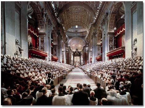 inauguración del Concilio Vaticano II