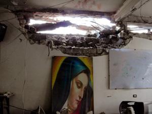 ataques a una iglesia cristiana en Homs Siria