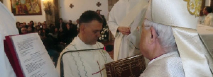 Andrés Borrego primer diácono permanente de Jaén