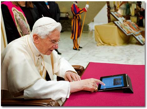 papa Benedicto XVI se abre una cuenta en Twitter