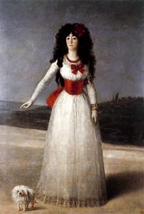 La duquesa de Alba de blanco, de Goya