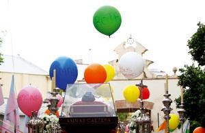 las reliquias de Don Bosco en peregrinación por España 2012