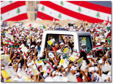 papa Benedicto XVI viaja a Líbano septiembre 2012