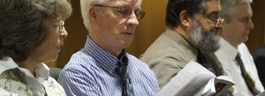 teólogos expertos durante el Sínodo de la Nueva Evangelización