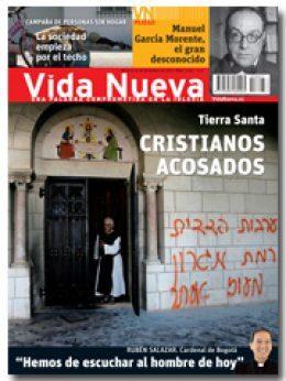 Vida Nueva portada 2827 Cristianos acosados en Tierra Santa