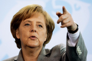 Angel Merkel primera ministra de Alemania