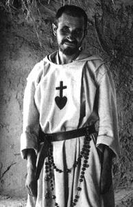 Carlos de Foucauld fotografía en blanco y negro