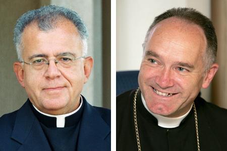 Joseph Augustine Di Noia vicepresidente Ecclesia Dei y Bernard Fellay superior lefebvristas